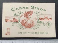 Buvard Crème Simon / Paris / Blotter