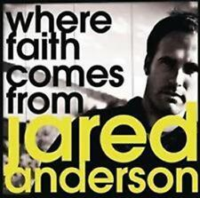 CD Jared Anderson WHERE FAITH COMES FROM christ Pop Worship NEU & OVP