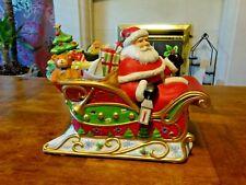 Partylite - P9005 Santas Sleigh Ride Tea lite Holder  -  Boxed