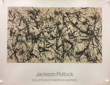 Jackson Pollock - Collection of American Masters (Number 32)1950 - 1989 - Poster