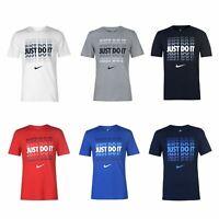 Nike Just Do It Shadow T-Shirt Mens Tee Shirt Top