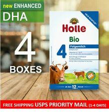 Holle Bio Stage 4 W/ Dha (12+ months) 4 Boxes - Organic Milk Formula - 600g