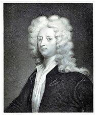 Joseph Addison-poeta, dramaturgo & político-grabado por J. Thomson-c1830