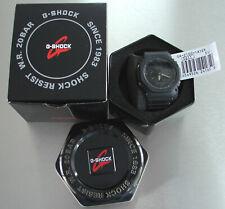 Casio g-shock ga-2100-1a1er analógico/digital en embalaje original! nuevo!