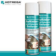 Hotrega 2 x 300 ml Aufkleber- und Klebereste Entferner Premium Leim Ettiketten