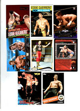 Eddie Guerrero Wrestling Lot 8 Different Trading Cards 4 Inserts WWE WCW EG-G1