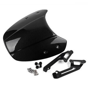 Carbon Front Windscreen Windshield Protection For Ducati Scrambler 2015-2018