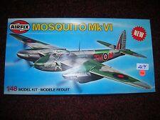 """Airfix #7100 """" Mosquito MK. VI   British  """"  1/48 scale  lot # 11448"""