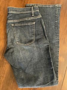 GAP  Womens Stretch Low Rise Bootcut Jeans Dark Wash Size 12