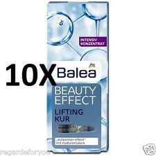 10 Packs Balea Beauty Effect Lifting ageTreatment Hyaluronic Acid Kur 70 x 1 ml