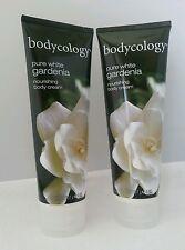 2 Bodycology Pure White Gardenia Nourishing Body Cream 8.oz EACH