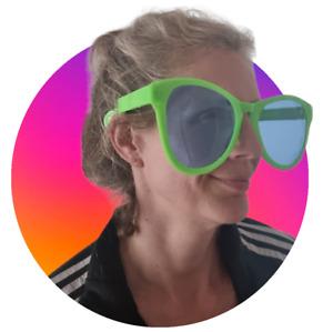 Giant Sunglasses Large Novelty Jumbo Joke Prank Fancy Dress Clown Fun Glasses