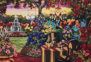 .PUZZLE.....JIGSAW....WERNERSBACH....Twilight Romance Garden.......750pc