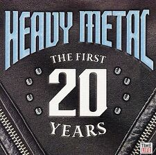 HEAVY METAL - The First 20 Years. CD Time life. 18 Tracks