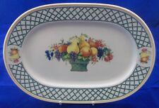 Villeroy & et boch basket assiette 33.5cm - ovale dinner plate