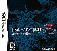USED Final Fantasy Tactics A2: Grimoire of the Rift  Nintendo DS Cartridge Only
