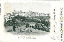 CARTOLINA d'Epoca: S. ELPIDIO AL MARE - A. P. FERMO