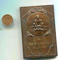 Alte  Sieger  Plakette     Dresdner Ruder Club 1920