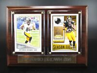 Antonio Brown Pittsburgh Steelers Holz Wandbild 20 cm,Plaque NFL Football !!