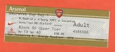ORIG. ticket Emirates Cup 2008 arsenal/Hamburger SV/real madrid/juventus