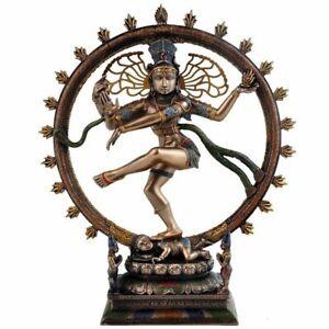 Lord Natraj Idol Hindu Dancing Shiva Statue Religious Nataraj figurine