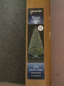 Premier Fire Optic 1.2 Meters LED Burst Christmas Tree (New)