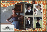 Mustique Grenadines St Vincent 2014 MNH Downton Abbey 4v M/S II TV Series Stamps
