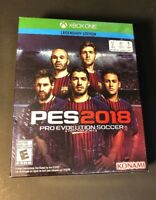Pro Evolution Soccer 2018 Legendary Edition [ PES 2018 ] (XBOX ONE) NEW