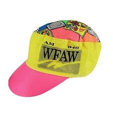 Vintage 90's Neon Painter Hat Cap Havill-Spoerl Auto WFAW AM 940 Promo Cotton