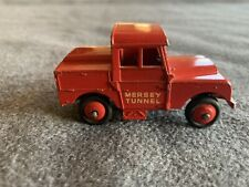Dinky 255 Mersey Tunnel Police Land Rover - die cast - vintage 1950s