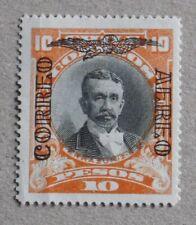 Chile 1928/32 Air Mail – Errazuriz Echaurren – Yv 22 – 10 p – orange and black