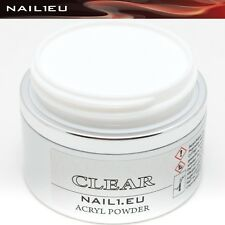 Profesional Polvo De Acrílico Transparente nail1eu CLARO 100ml/82 g