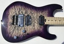 Charvel Pro-Mod San Dimas Style 1 HH FR M QM Maple Fingerboard Purple Phaze