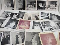 Vintage Wedding Celebration Shower Family Photos 1960 1961 Snapshots Photographs