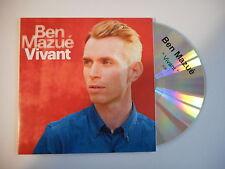 BEN MAZUE : VIVANT [ CD SINGLE PORT GRATUIT ]