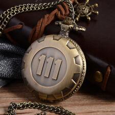 Gold Toy Chain Steampunk Pendant Full Vintage Fashion Pocket Watch Quartz Silver