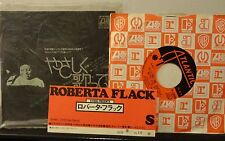 Japan ROBERTA FLACK Killing me Softly with his Song / Just Like A Woman P-1205A