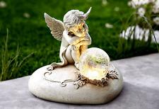 Solar Engel Engelfigur Grablicht Grableuchte Grabschmuck Grabdeko Grabengel NEU