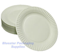 300 x 23cm White Quality Paper Party Dinner Plates