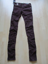 """ladies REPLAY SKINNY COTTON JEANS SIZE 24"""" WAIST - 34"""" LEG NEW WITH TAGS"""