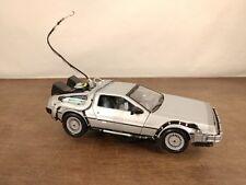 "Welly ""Back to The Future"" Delorean 1:24 Scale Time Machine Model"
