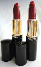2 x GALE HAYMAN TRUE RED LIPSTICK 3.4G - may have a  tiny blemish - great offer!