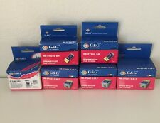 Lot Of 6 G&G INK CARTRIDGE For Epsom Stylus C62/CX3200 NE-0T041