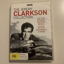Jeremy Clarkson - Extreme Machines / Motorworld / Speed (DVD, 2008) Region 4&2