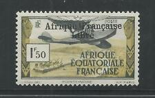 FRENCH EQUATORIAL AFRICA # C9 MHG FREE FRENCH