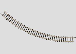"8520 Marklin Z-scale 45° Degree Curved Track Radius 195 mm / 7-11/16"".  1each"