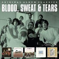 SWEAT & TEARS BLOOD - ORIGINAL ALBUM CLASSICS 5 CD NEW+