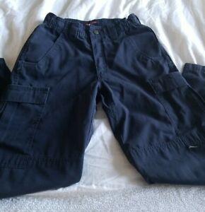 "TRU-SPEC Tactical Pants 100272 Size 28"" x ""30 Navy Blue Midnight Paremedic EMT"