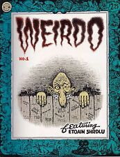 R. CRUMB WEIRDO NUMBER 1 SPRING 1981 PREMIERE ISSUE FIRST PRINTING! 99% CRUMB!!