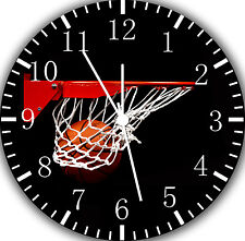 "New Basketball wall Clock 10"" will be nice Gift and Room wall Decor E189"